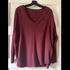Trouve Maroon Sweater